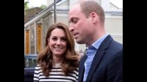 Royal baby, la reazione di William e Kate alla nascita del figlio di Harry e Meghan