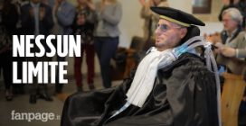 """Antonio, malato di Sla si laurea: """"La malattia mi ha tolto la parola ma non la voglia di lottare"""""""