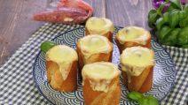 Baguette ripiene di carne e formaggio: l'idea originale per un aperitivo sorprendente!