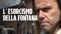 """""""Quella fontana evoca Satana"""": in paese arriva l'esorcista e sale la tensione"""