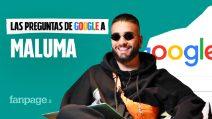 Maluma, HP, Corazón, pelo, orígenes, Ricky Martin: el cantante contesta las preguntas de Google