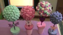 Festa della mamma: come realizzare un bellissimo albero di rose fai da te