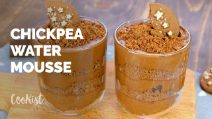 Chickpea water chocolate mousse: ready in 5 minutes!