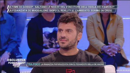 """Pomeriggio Cinque - Marco Maddaloni: """"Il matrimonio con Romina Giamminelli? Manterrò la promessa"""""""