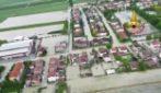 Maltempo, alluvione a San Martino di Villafranca: le immagini dall'alto