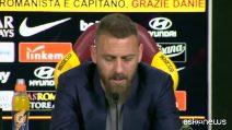 """De Rossi: """"Io dirigente? Preferirei fare l'allenatore"""""""