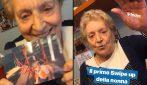 """La nonna di Fedez, Luciana Violini, sbarca su Instagram: """"Andrò in prigione?"""""""