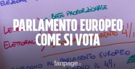 Elezioni europee, come si vota spiegato in 120 secondi