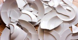 Come riutilizzare i piatti rotti: ciò che realizza è bellissimo
