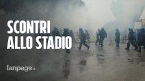 Coppa Italia, scontri fuori dall'Olimpico prima di Lazio-Atalanta: cariche e lacrimogeni
