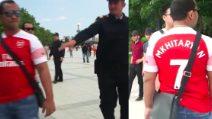 Vietata la maglia di Mkhitaryan: la polizia ferma i tifosi dell'Arsenal