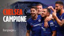 Il Chelsea vince l'Europa League! Arsenal sconfitto 4-1. Primo trofeo in carriera per Maurizio Sarri