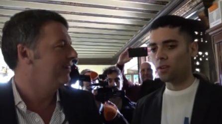 Video-selfie con Salvini, Renzi incontra il protagonista della beffa e si fa raccontare l''impresa'