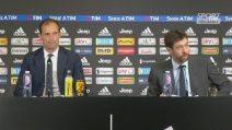 Juventus, l'addio di Allegri: si commuove in conferenza stampa