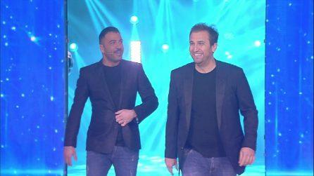 """Amici 2019, Pio e Amedeo: """"J-Ax ma perché non fai pace con Fedez?"""""""