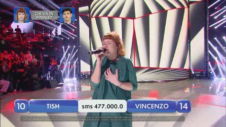 Amici 2019, Tish canta 'Bird set free'