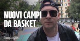 """Clementino rifà un campo da basket per Tarantelle: """"Una possibilità in più per i giovani"""""""