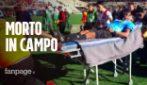 Arbitro morto in campo dopo un malore: la partita continua regolarmente