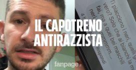 """Milano, il capotreno Trenord: """"Dopo il video contro i razzisti ho ricevuto tanti insulti omofobi"""""""