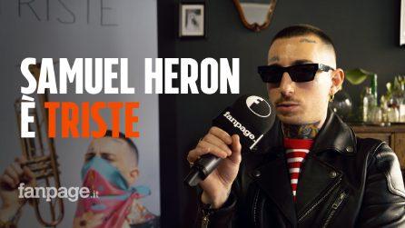 """Samuel Heron, l'esordio è """"Triste"""": """"Non mi sento vicino alla scena rap"""""""