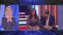 Barbara d'Urso incoraggia Francesca De André