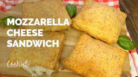 Italian mozzarella cheese sandwich: an easy recipe to try right now!