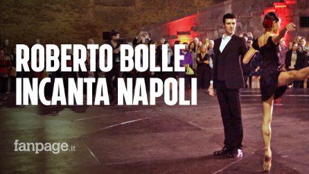 """Roberto Bolle incanta Napoli con OnDance: """"È una città che sa reagire bene e ha un grande cuore"""""""