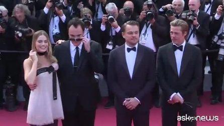 Tarantino infiamma Cannes, DiCaprio e Brad Pitt sul red carpet