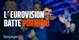 L'Eurovision batte Pornhub: crollano le visite al sito porno. Ma nessuno cerca Mahmood