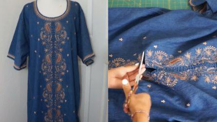 Compra un vecchio vestito spendendo pochissimo: la trasformazione è stupenda