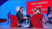 Uomini e Donne: Klaudia Poznanska non è la scelta di Andrea Zelletta, le lacrime del tronista