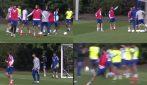 Rabbia Higuain in allenamento: urla e poi scaglia il pallone, l'argentino è una furia