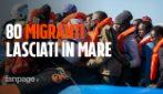 """La Sea Watch accusa la Marina Militare: """"Ci sono 80 migranti in pericolo, ma non interviene"""""""