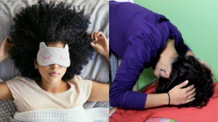 Dormire con i capelli ricci: il metodo per mantenerli perfetti e morbidi