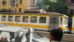 Fumo dal tetto del trenino: stop alla ferrovia Termini - Centocelle