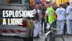 Paura a Lione: pacco bomba esplode in pieno centro, 8 feriti tra cui una bambina