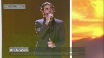 """Finale di Amici 18, Alberto canta """"Il mare calmo della sera"""""""
