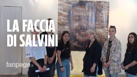 """""""Matteo Salvini ha il volto di 400 naufragi"""", l'arte che prende posizione"""