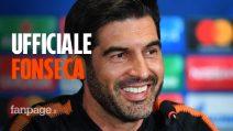 Ufficiale: Paulo Fonseca è il nuovo allenatore della Roma