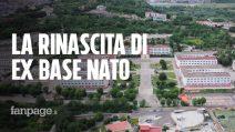 """Napoli, l'Ex Base NATO ritorna ai cittadini con cinema e musica: """"Mettiamo i fiori nei cannoni"""""""
