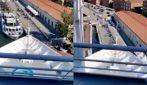 Venezia, il momento dello scontro visto dal ponte della nave da crociera
