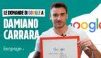 Damiano Carrara, fidanzato, età, ricette, Bake Off: il pasticcere risponde alle domande di Google