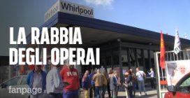 """La rabbia degli operai Whirlpool: """"L'azienda sposta la produzione all'estero, disattesi i patti"""""""