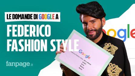 Federico Fashion Style, moglie, figlia, palloncini: il parrucchiere risponde alle domande di Google