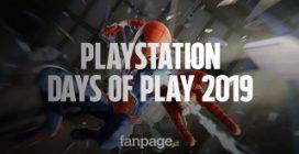 PlayStation Days of Play 2019: tutte le offerte fino al 60% su giochi, console e controller PS4