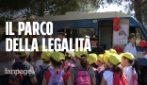 Roma, con la polizia al parco della legalità: festa degli studenti a Villa Pamphilj