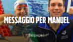 """Campionessa paralimpica a Manuel Bortuzzo: """"Persegui il tuo sogno delle paralimpiadi"""""""