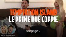 Temptation Island 2019: le prime due coppie sono Jessica e Andrea, Katia e Vittorio