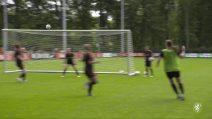 Anche la nazionale olandese di calcio femminile ha il suo Van Basten: che gol in allenamento