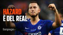 Calciomercato, ufficiale: Eden Hazard è un giocatore del Real Madrid